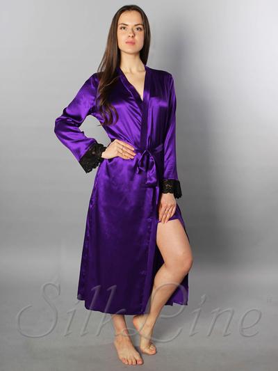 86a0d9d3a74c Шелковые халаты женские SilkLine купить с доставкой по Украине - Одежда,  обувь