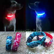 Светящийся ошейник для собак LED  КИЕВ 90 - 110 грн