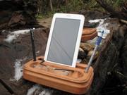 Деревянные подставки для смартфонов,  планшетов из редких пород.
