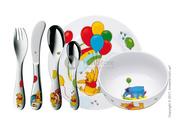 Хороший детский набор посуды от компании «WMF»