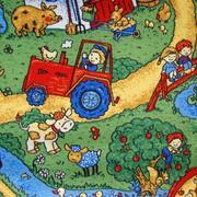 Детские ковры на пол Каникулы. Детский ковролин.
