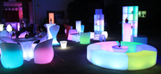 Обеспечение  Loft,  Лед LED мебели и аттракционы на мероприятия
