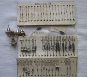 Тиристор,  транзистор,  диод,  фотодиод,  светодиод,  дросель.