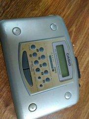 Продам плеер кассетный цифровой Casio AS-703R (б/у).