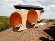 Ремонт настройка, спутниковой антенны
