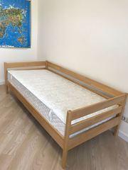 Кровать (2х0.90) + матрас (2х0.90),  намарасник в подарок