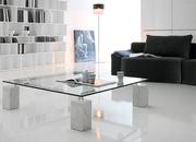 Итальянская мебель из стекла и стеклянные изделия: столы,  стулья,