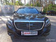 Аренда Mercedes S class W222 с водителем в Киеве