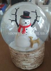 Снежный музыкальный шар