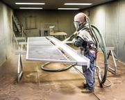 Пескоструйная обработка металлоконструкций Киев