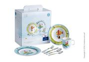 Красивый набор детской посуды Villeroy & Boch