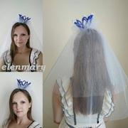 Фата с короной для девичника