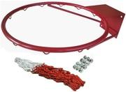 Комплект баскетбольное кольцо БК-100 с сеткой и болтами