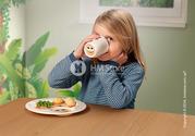 Яркий набор детской посуды Villeroy & Boch коллекция Animal Friends