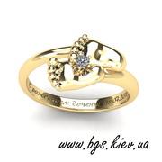 Золотое кольцо Ножки малыша,  пяточки младенца