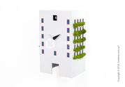 Смелые и современные часы Progetti Urban Cuckoo Clock
