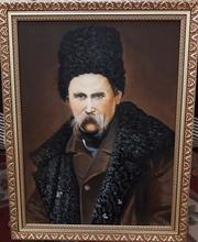 Портрет Тараса Григорьевича Шевченко работы Крамского