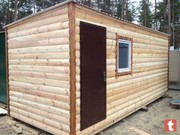 Битовка,  дачний деревяний садовий домик