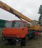 Продаем автокран КС-4572А Галичанин,  16 тонн,  КАМАЗ 53213,  1986 г.в.