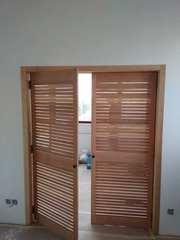 Жалюзные дверки,  решеточные двери (индивидуальные размеры)