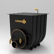 Печь калориферная «Canada» с варочной поверхностью «00»