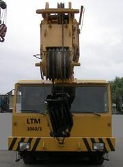 Продаем самоходный кран Liebherr LTM 1060/1,  60 тонн,  1986 г.в.