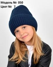 Вязаная новая шапка для девочки