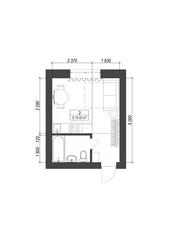 Квартира смарт формату за 259000 грн.