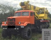 Продаем автокран Bumar FAMABA DS-0183T,  1985 г.в.,  18 тонн,  КрАЗ