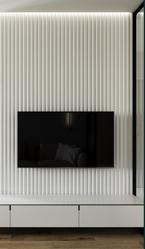Гипсовая стена из 3д панелей