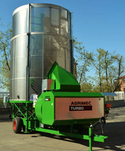 Мобильная зерносушилка / сушилка зерна