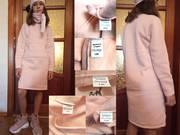 Платье туника для девочки,  утепленное,  размеры на  5-10 лет