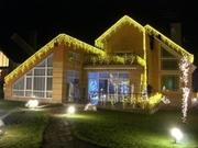 оригинальное и красочное оформление фасадов для любых праздников Киев